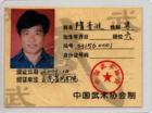 Zertifikat ShanDong WuShu Association