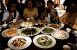 Abendessen im LaoShan Zentrum