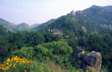 Blick auf das LaoShan Zentrum