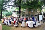 Diskussionsrunde im LaoShan Zentrum