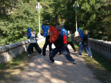Fächer-Übungen im LaoShan Zentrum