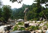 LaoShan Gebirgsfluss