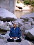 Meditation auf den LaoShan Steinen