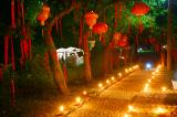 Nacht im LaoShan Zentrum