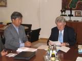 2004 Projektbesprechnung beim Landeshauptmann Dr. Puehringer 02