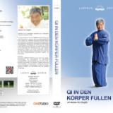 Inlay DVD Qi in den Körper füllen