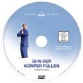Label Inlay DVD Qi in den Körper füllen